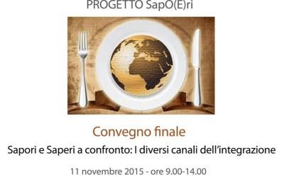 """Convegno finale progetto """"SapO(E)ri"""""""