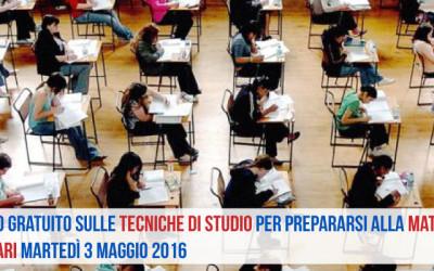 Mini-corso gratuito sulle tecniche di studio