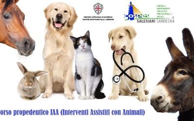Spostamento date. Corso Propedeutico IAA (Interventi Assistiti con gli Animali).