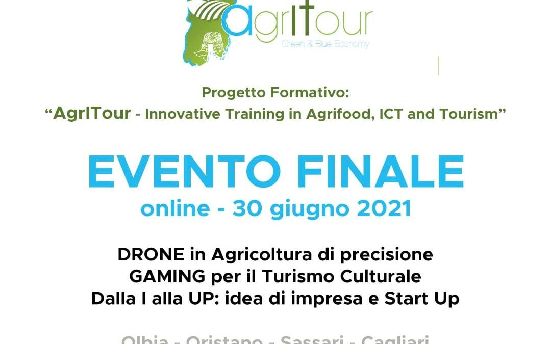 """Convegno finale Progetto Formativo: """"AgrITour – Innovative Training in Agrifood, ICT and Tourism"""""""